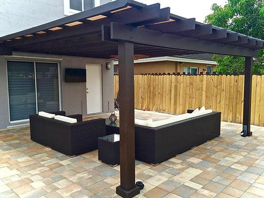 Outdoor patio pergola outdoor goods for Home goods outdoor kitchen