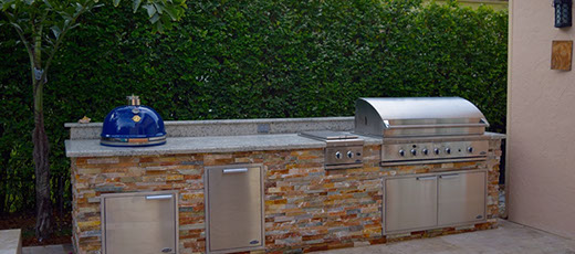 outdoor kitchen pergola stucco outdoor kitchen home